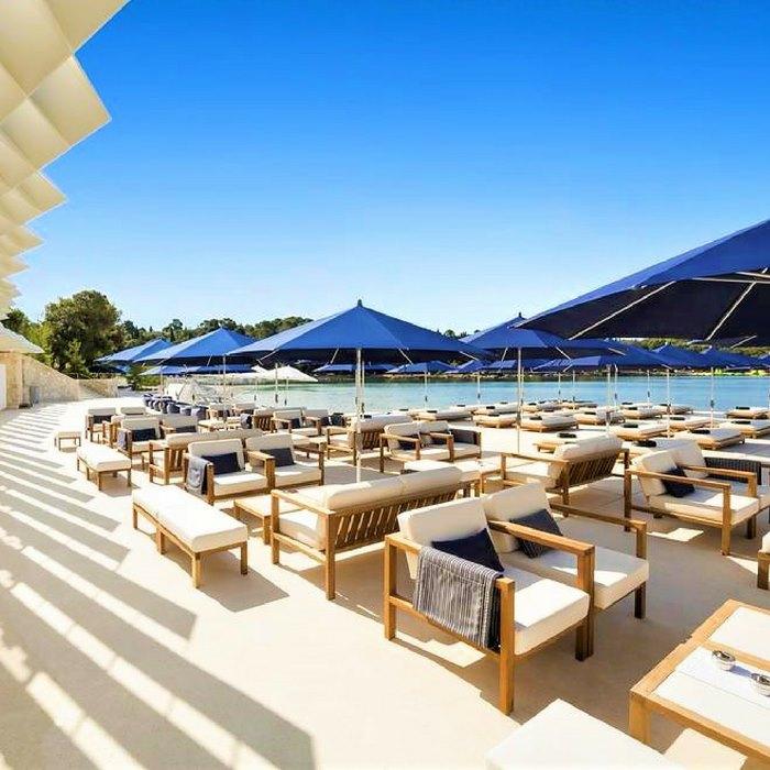 Hotel Monte Mulini pool area