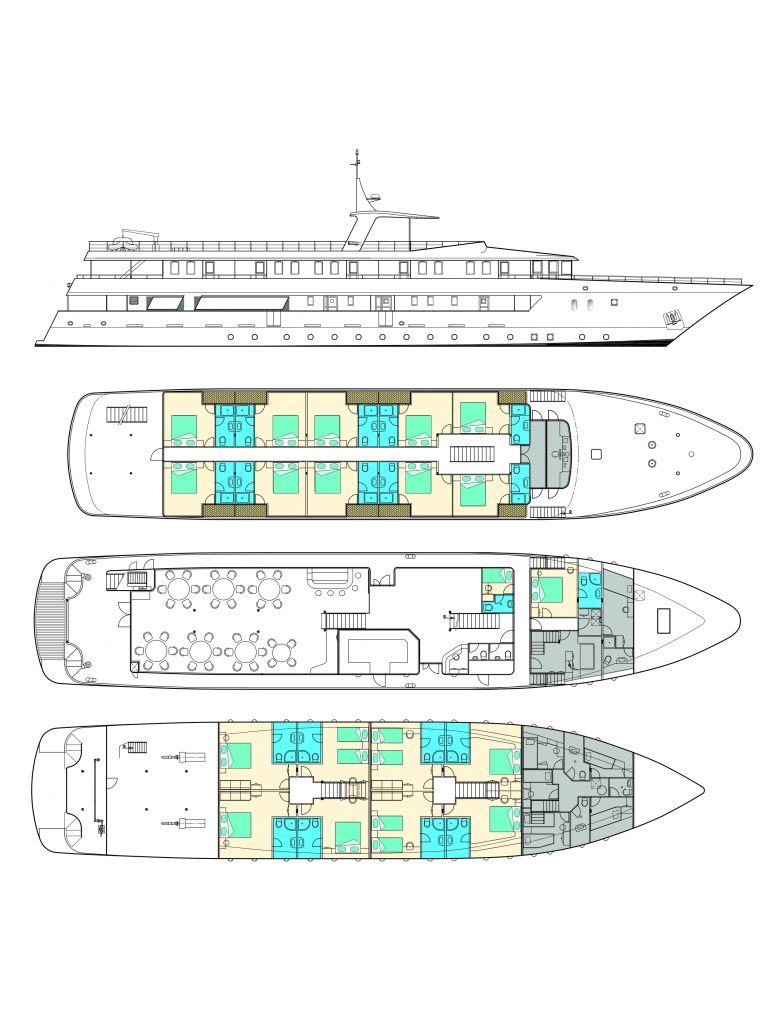 Adriatic Sun deck plan
