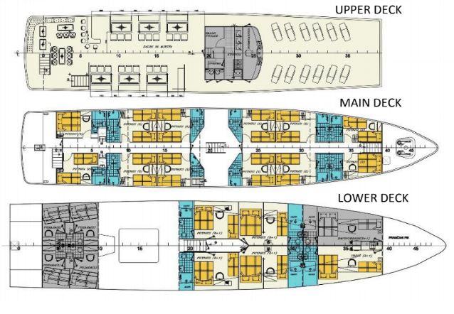 MS Seagull Deck Plan
