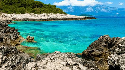 Pula, Pula Beach, Croatia