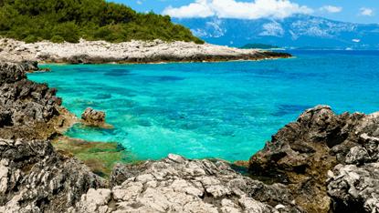 Croatia, Pula beach