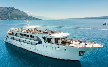 MS Diamond - Croatia Small Cruise Ship