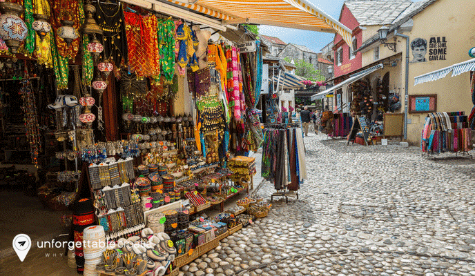 Bosnia Market