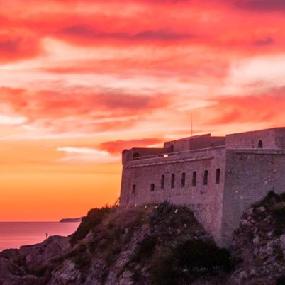Sunset at Dubrovnik