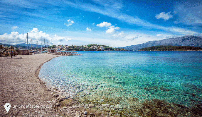 Korcula beach, Croatia, Unforgettable Croatia