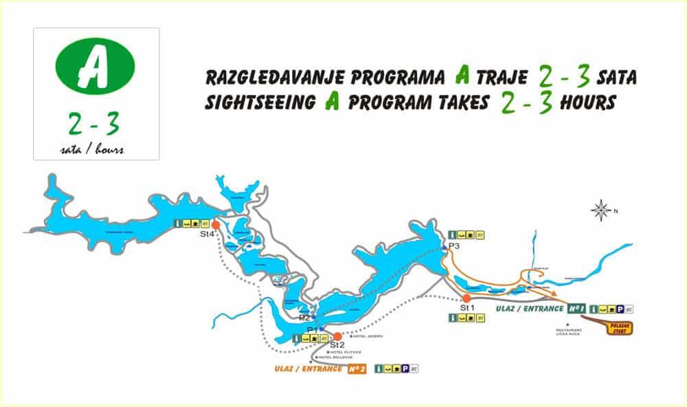 Plitvice Trail A