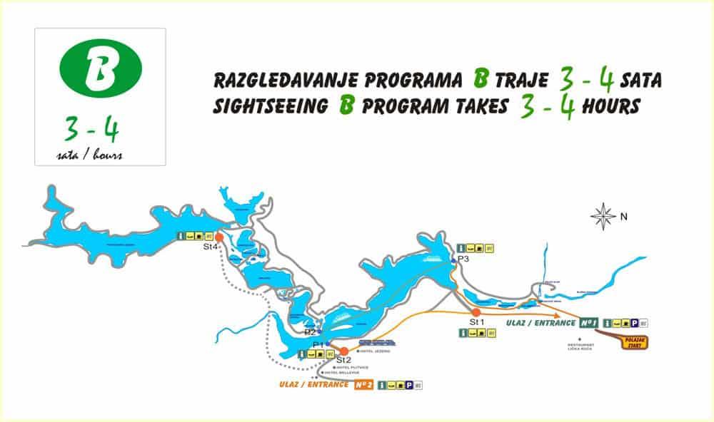 Plitvice Trail B