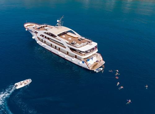 MV President Cruise ship Croatia