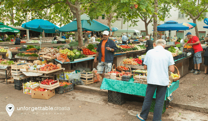 Split market