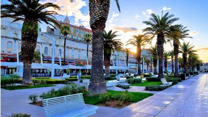 Split seafront promenade