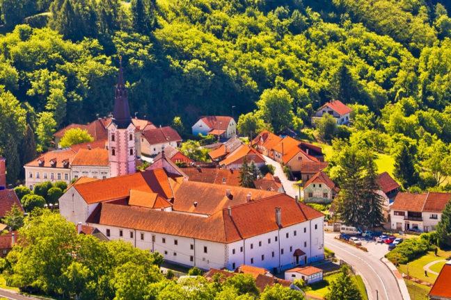 The Majestic Medieval Castle Of Trakošćan