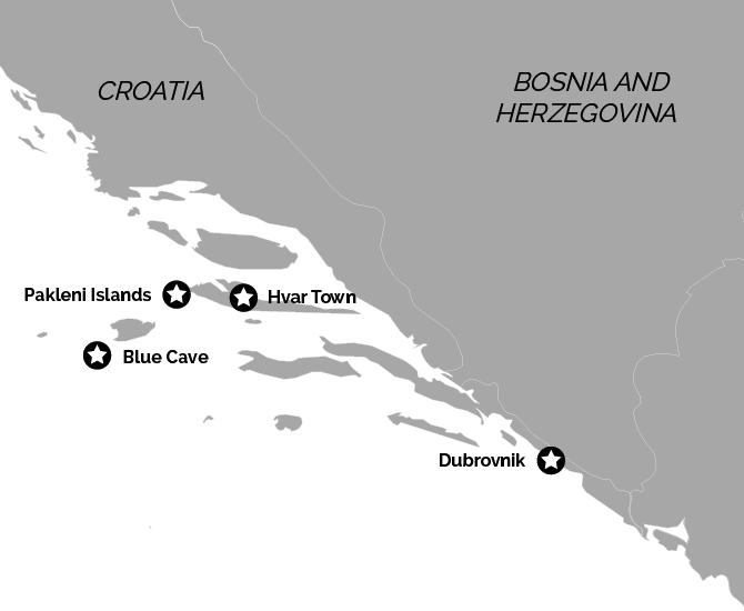 Hvar Dubrovnik Twin Centre Holiday