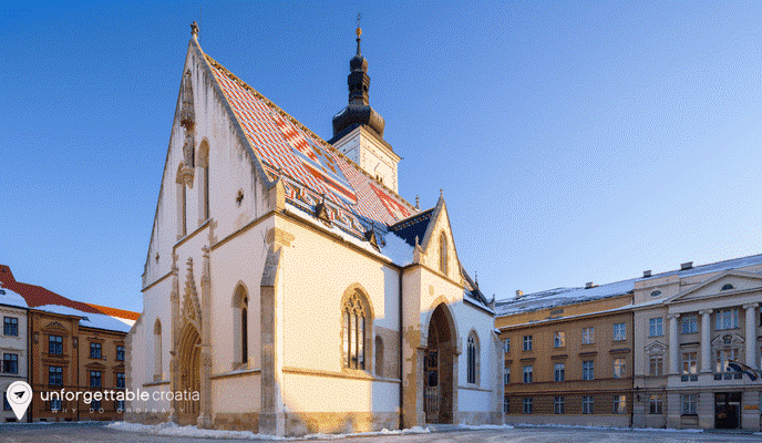 Zagreb St Mark Chuurch