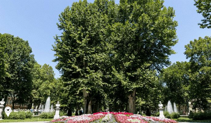 Zagreb inner city park