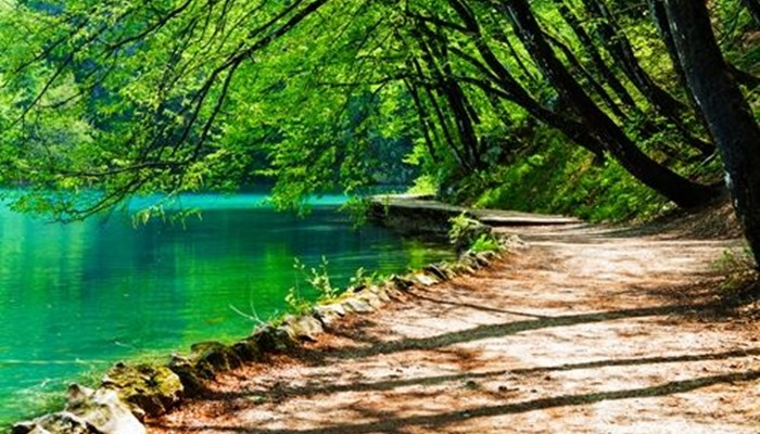 Plitvice Lakes National Park walk