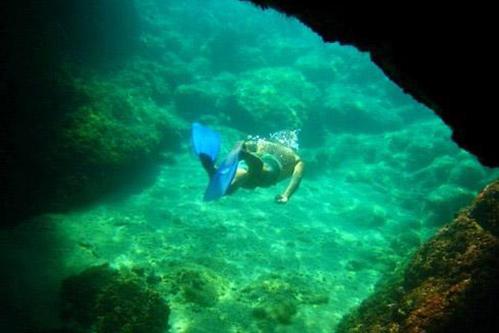 Snorkelling in Dubrovnik