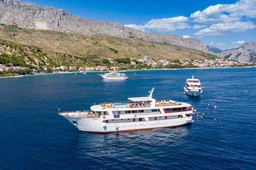 Aurora Cruise ship, Croatia