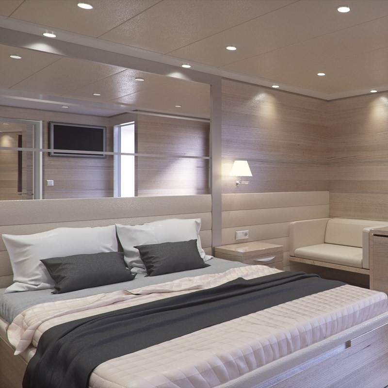 MS Bellissima Ship Cabin, Unforgettable Croatia