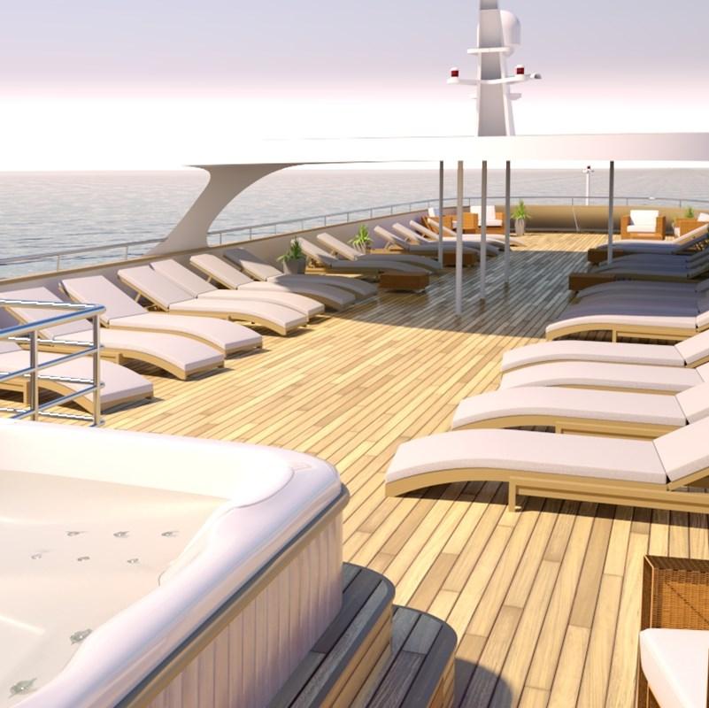 MS Bellissima ship sundeck