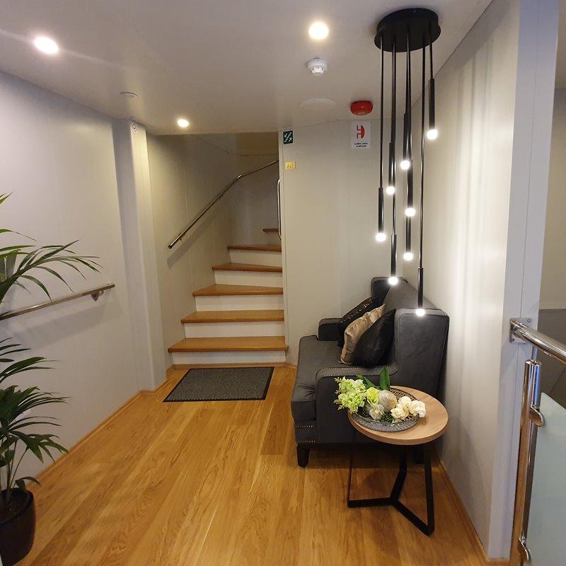 MV Antaris hallway