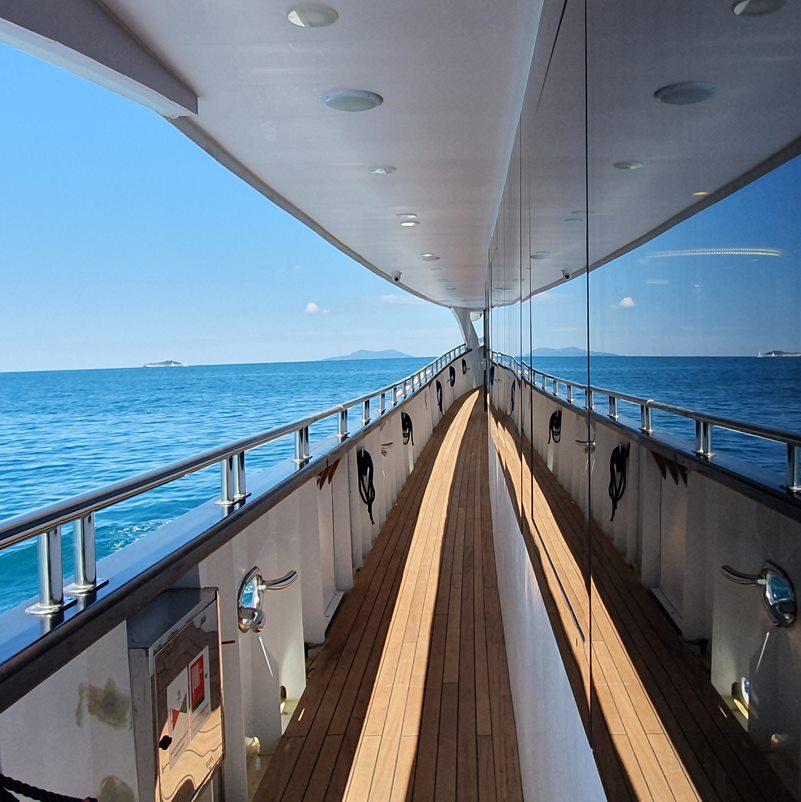 MV Antaris main deck