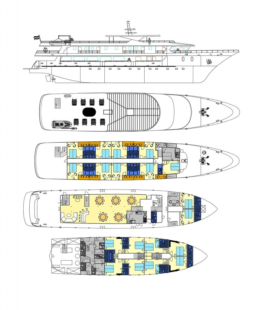 Markan deck plan