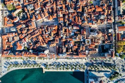 Aerial view of Split, Croatia, Unforgettable Croatia
