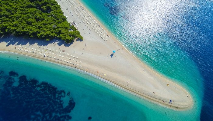 Zlatni Rat. Unforgettable Croatia