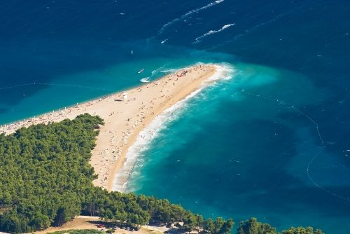 Golden Horn Beach, Bol, Brac, Croatia