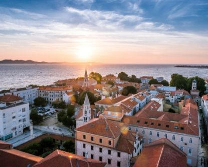 Zadar sunset, Croatia