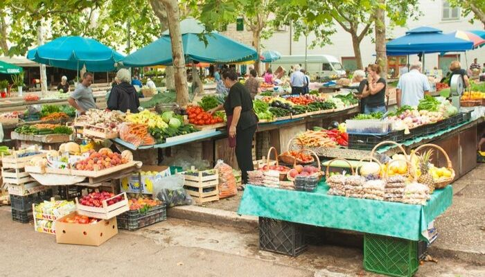 Split Green Market, Pazar, Split, Croatia, Unforgettable Croatia