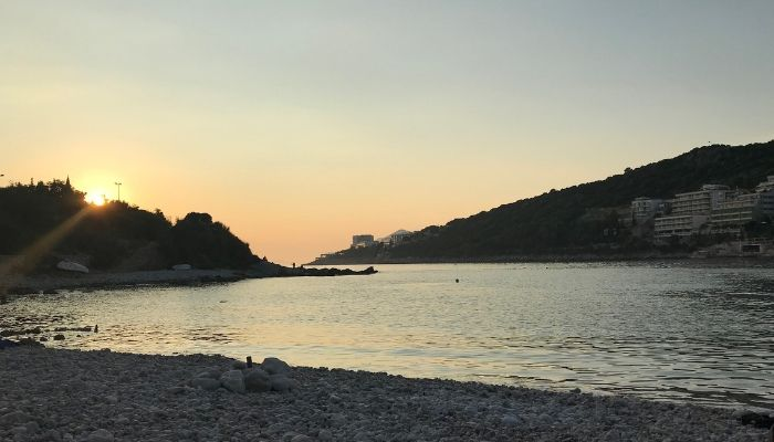 Lapad beach sunset, Dubrovnik, Croatia, Unforgettable Croatia
