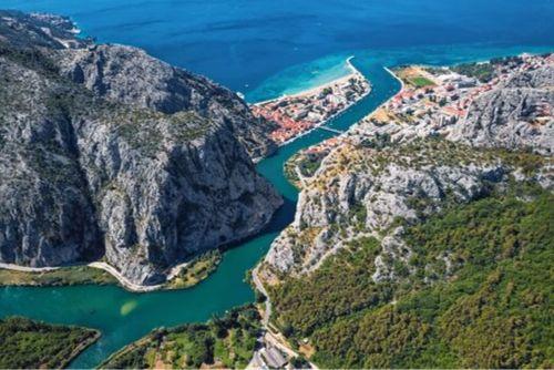 Unforgettable Croatia, Omis, Centina River, Croatia, Makarska Riviera