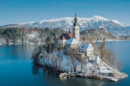 Private Tour of Lake Bled at Chrsitmastime