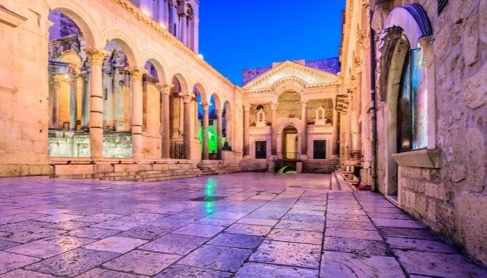 Peristyle Split, Croatia, Split, Unforgettable Croatia