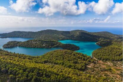 Croatia, Mljet National Park, Mljet Island