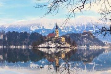 Lake Bled, Christmas