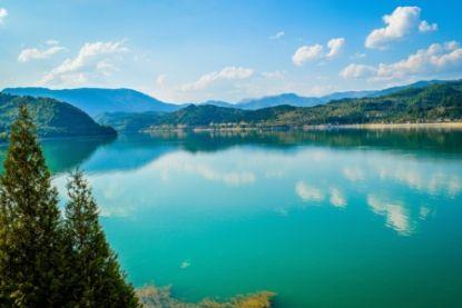 Beautiful lake in Bosnia