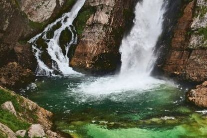 Slap Savica waterfall, Slovenia