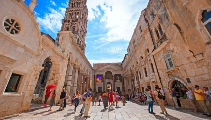 Unforgettable Croatia, Peristyle Split, Croatia, Split