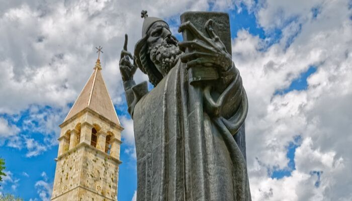 Statue of Grgur Ninski, Split, Croatia, Unforgettable Croatia