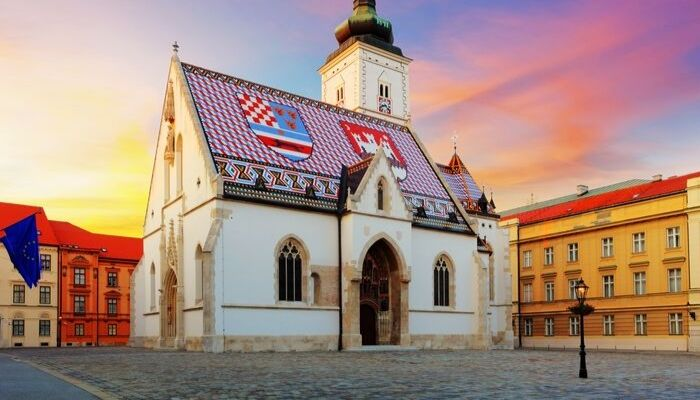 St Mark's Church, Zagreb, Croatia, Unforgettable Croatia