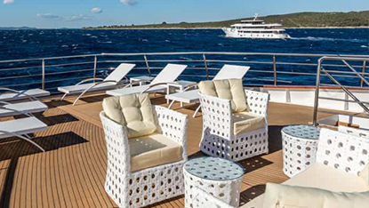 MV Adriatic Queen sun deck