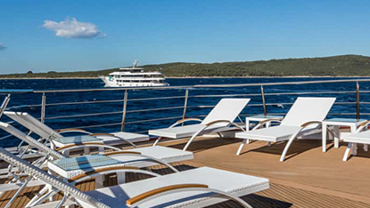 MV Adriatic Queen sundeck area