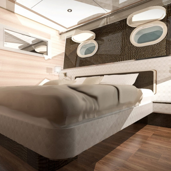 MS Invictus, double cabin