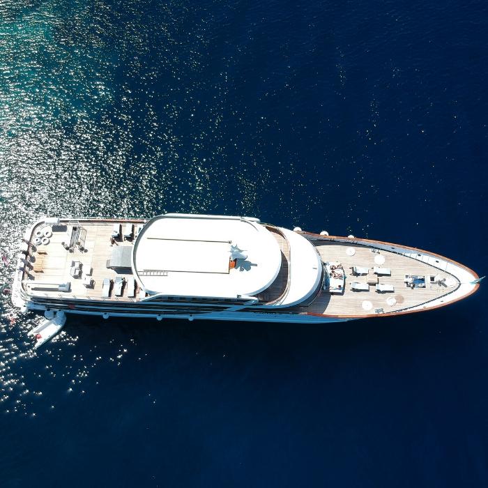 MS Nautilus, aerial view