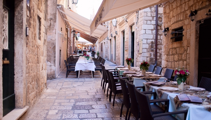Unforgettable Croatia, restaurants in Croatia