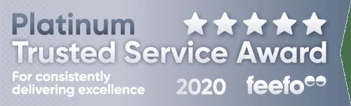 Feefo Platinum Service