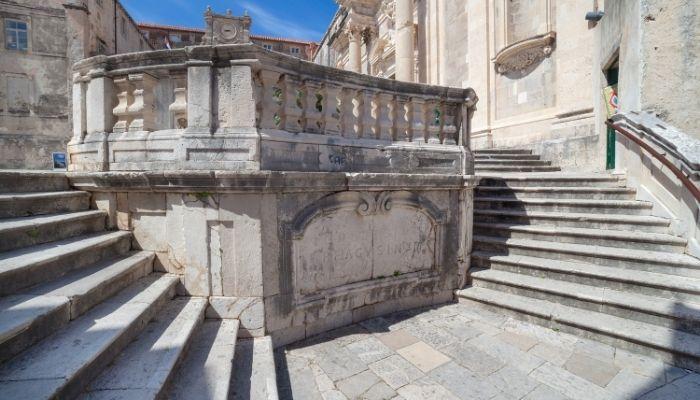 Jesuit Staircase, Dubrovnik