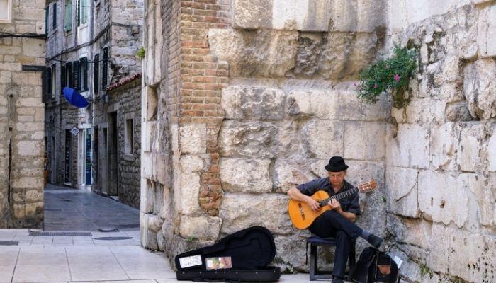 Musician in Split